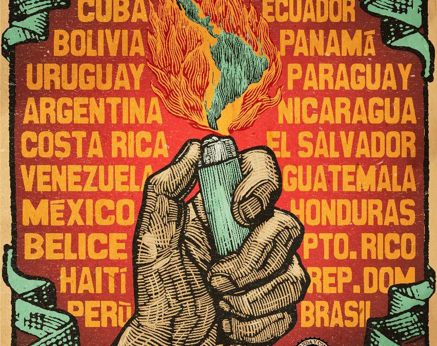 Cartel Arde Latinoamerica