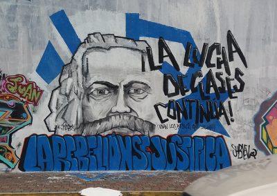 Mural La lucha continúa