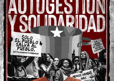 Organización, autogestión y solidaridad / Serie Pandemia