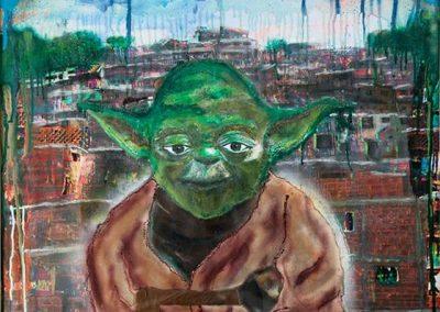 Yoda de visita en Petare