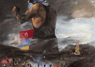 EL COLOSO. CAPITÁN COLOMBIA Y PUERTO RESISTENCIA