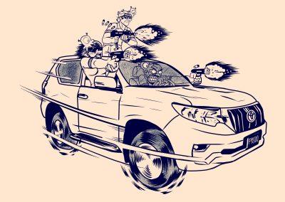 El clan de los Toyota